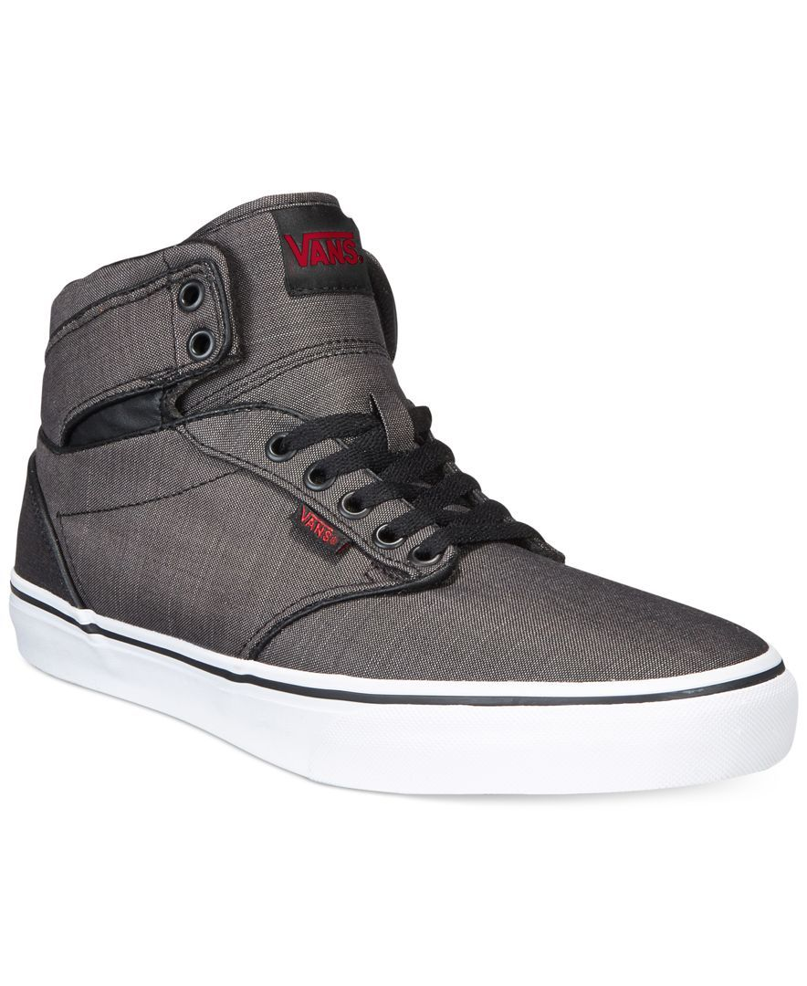 Vans, Atwood Hi Wax Canvas. Canvas SneakersMen ...