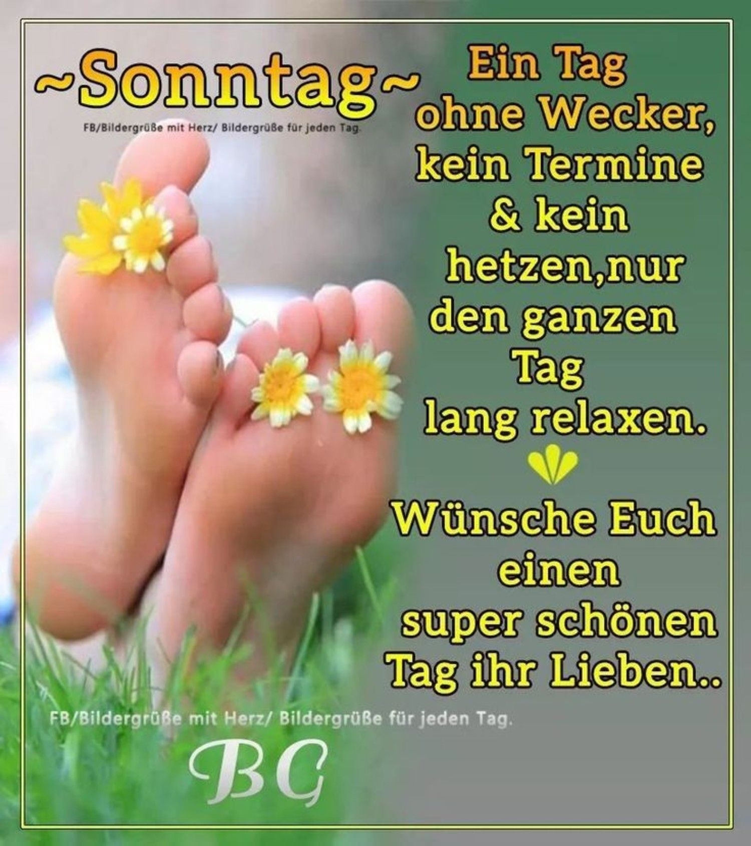 Photo of Guten Morgen Happy Sunday – GBPicsBilder.com