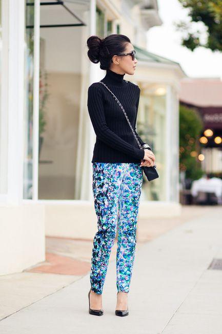 Spring Awakening :: Floral trousers