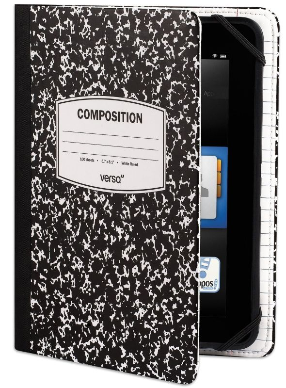 65d244d692052 Cool Stuff: Verso Trends Scholar Notebook Case For Kindle Fire HD ...