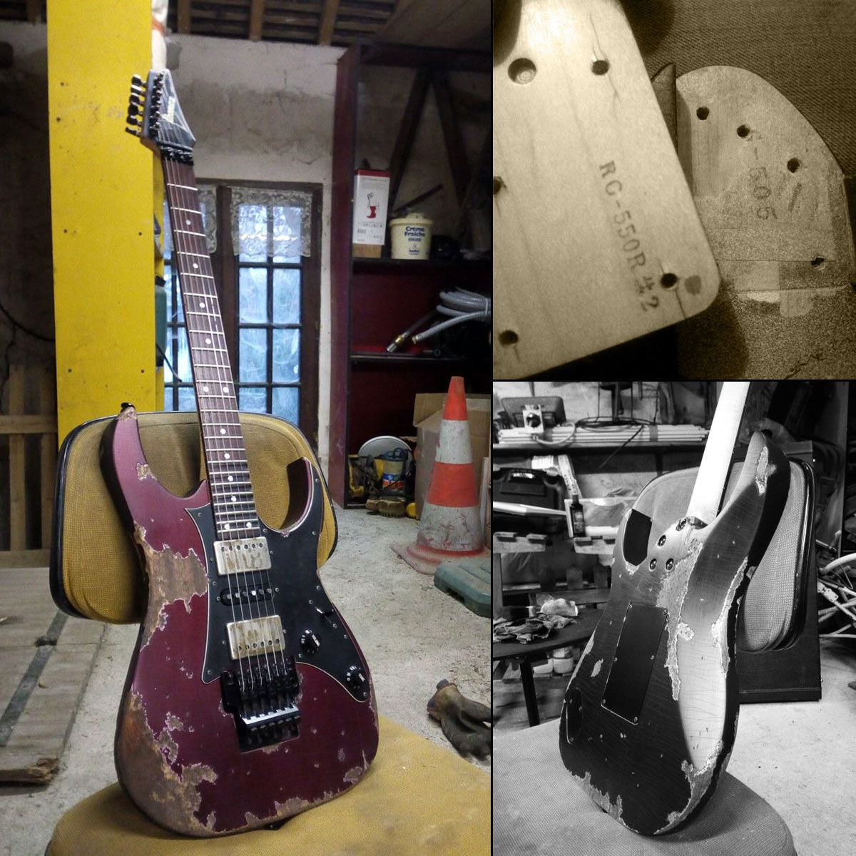 Image result for reliced project guitar