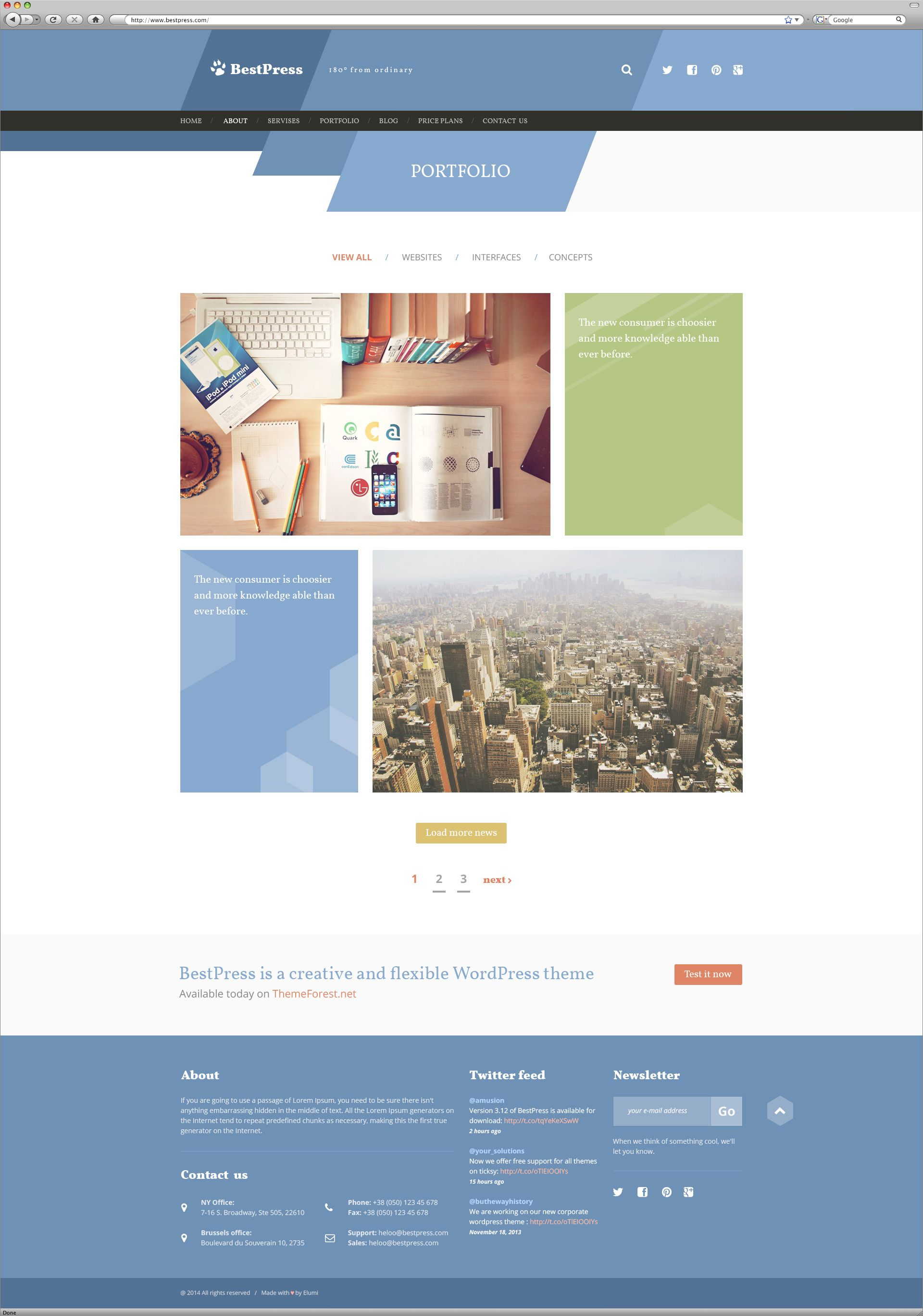 Bestpress Full Site Template
