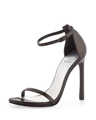 Sale Largest Supplier With Mastercard Sale Online ankle strap pumps - Black Stuart Weitzman 55DPrd