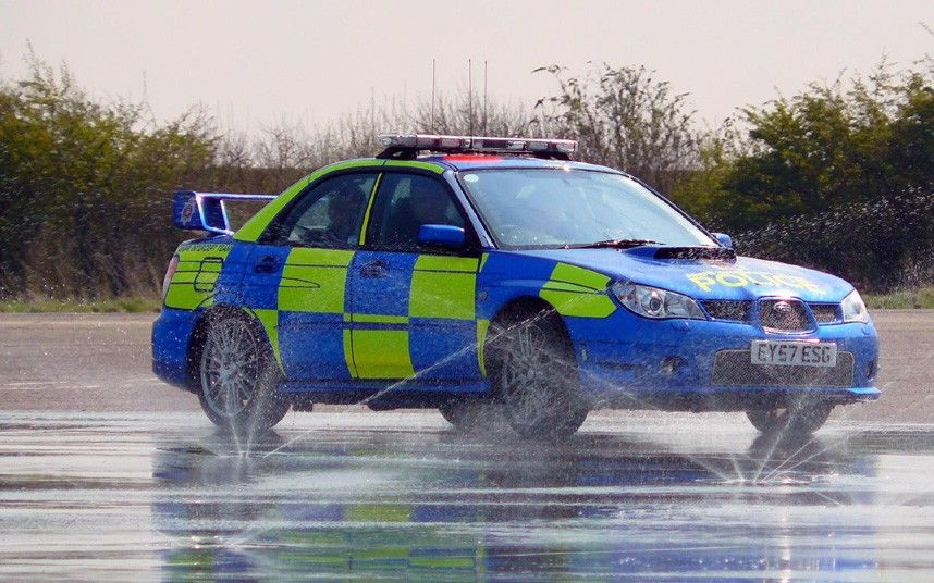 Fast Subarus have been a popular choice with traffic police