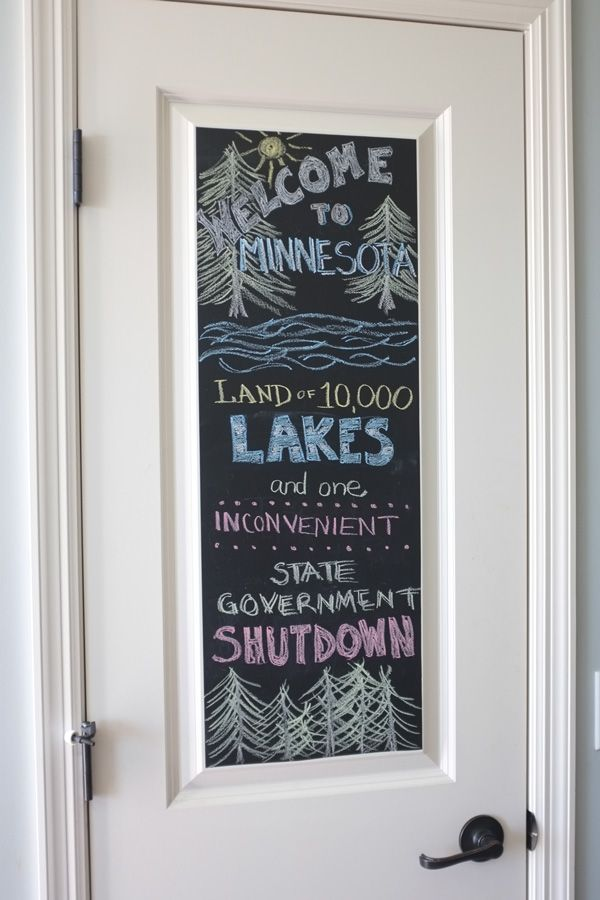 Easy Chalkboard Door Chalkboard Door Chalkboard Vinyl Chalkboard