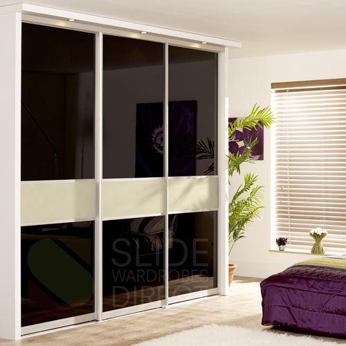 Fineline sliding wardrobe doors | sliding wardrobe door set | made to measure wardrobe | Master bedroom | Pinterest | Sliding wardrobe doors Door sets and ... & Fineline sliding wardrobe doors | sliding wardrobe door set | made ...