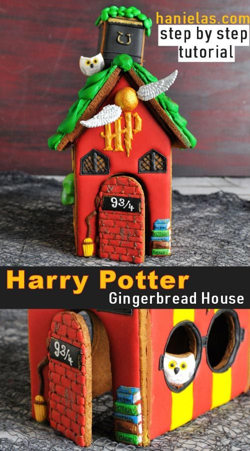 Harry Potter Gingerbread House [Templates]