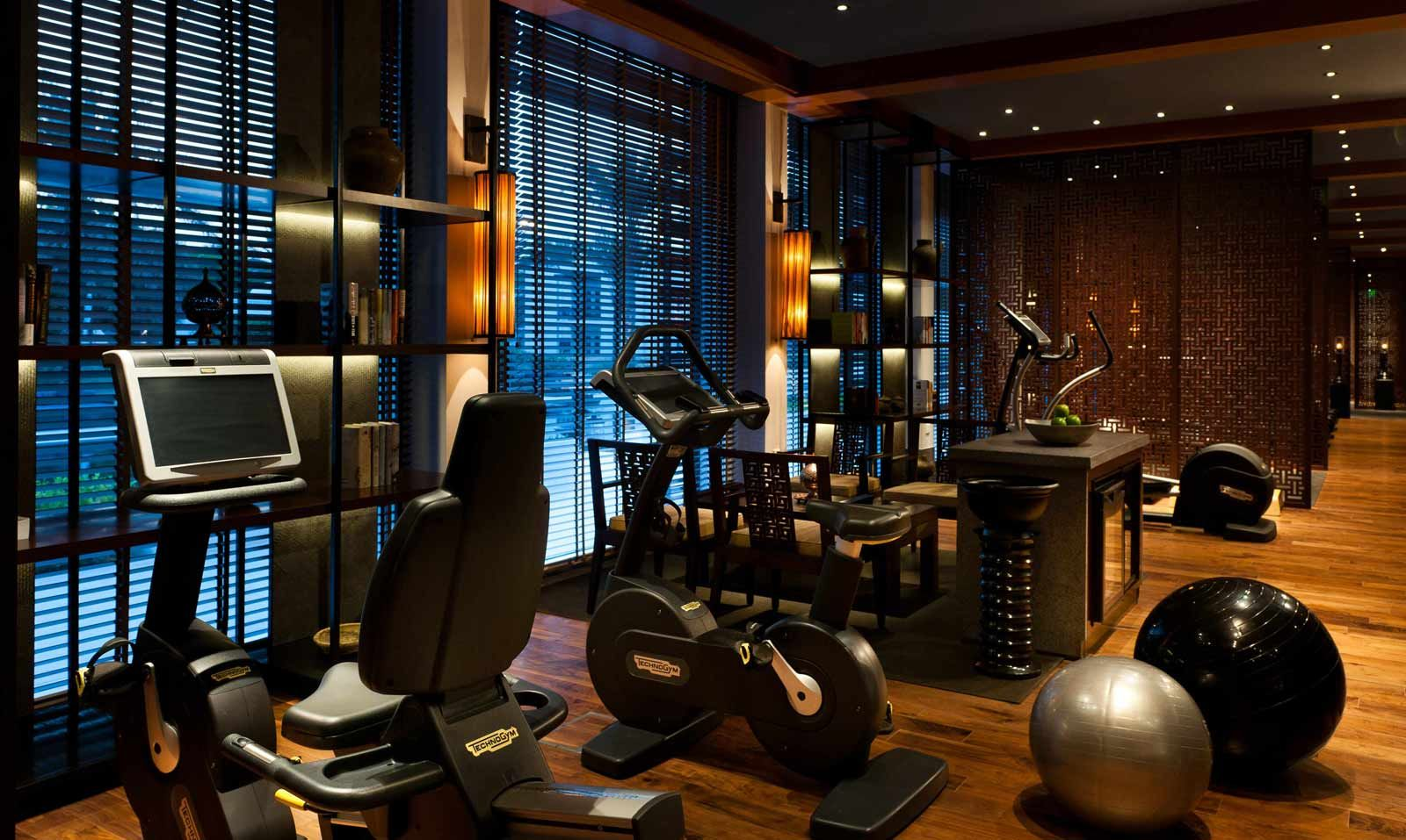 Luxury Hotel In Muscat Oman The Chedi Muscat From Ghm Luxury Gym The Chedi Muscat Gym