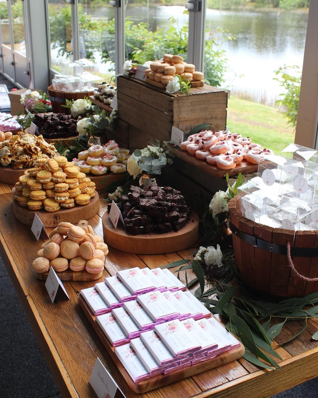 Wedding Dessert Buffet At Cammeray Waters In Woodend By Regniercakes