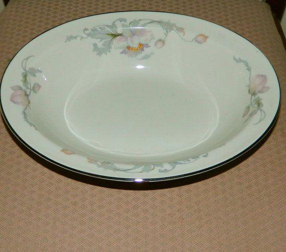 Warwick Silver Poppy 10 oval serving bowl by ShepherdstownGallery, $25.00