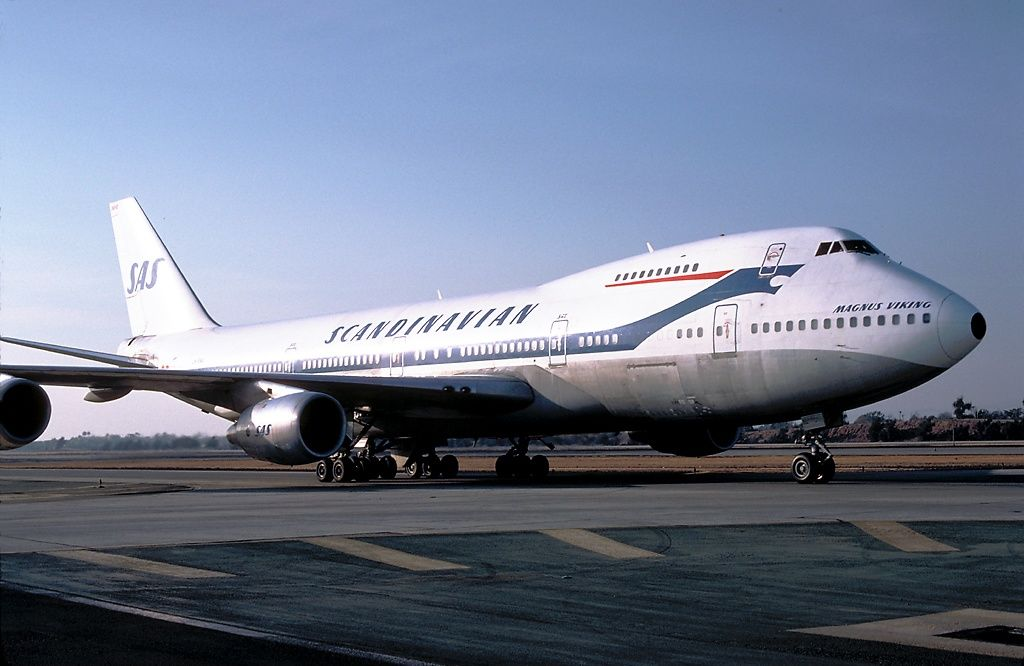The Viking Scandinavian Airlines System Vintage Airlines Boeing Aircraft