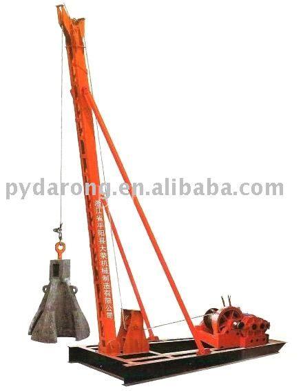 Piling Machine Photo