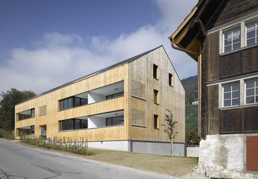 Carnier Carnier Loher Architekten - 2011 mehrfamilienhaus bild, balgach