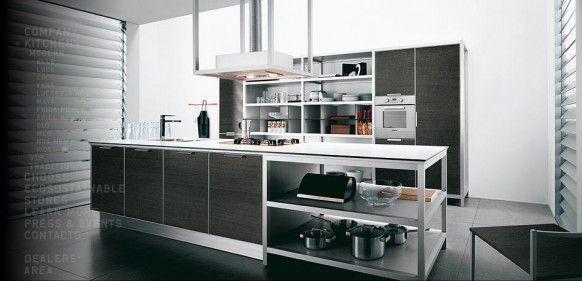 Cocinas italianas modernas de Cesar Diseño de cocina moderno - cocinas italianas