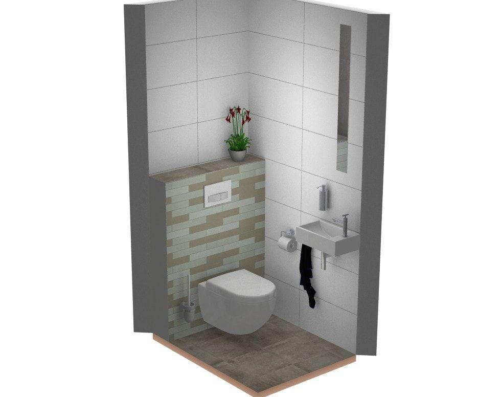 Landelijk toilet inspiratie warme kleuren modern toilet ideëen