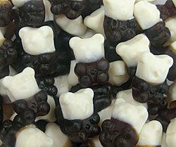 panda gummy candy