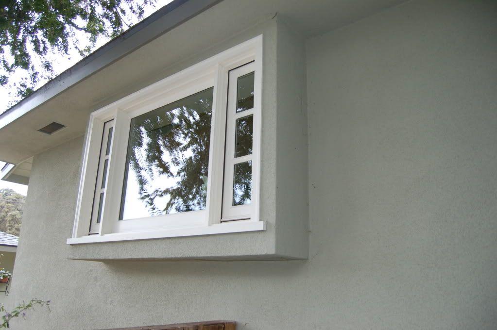 Exterior Of Bump Out Window Windows Small Condo Garden