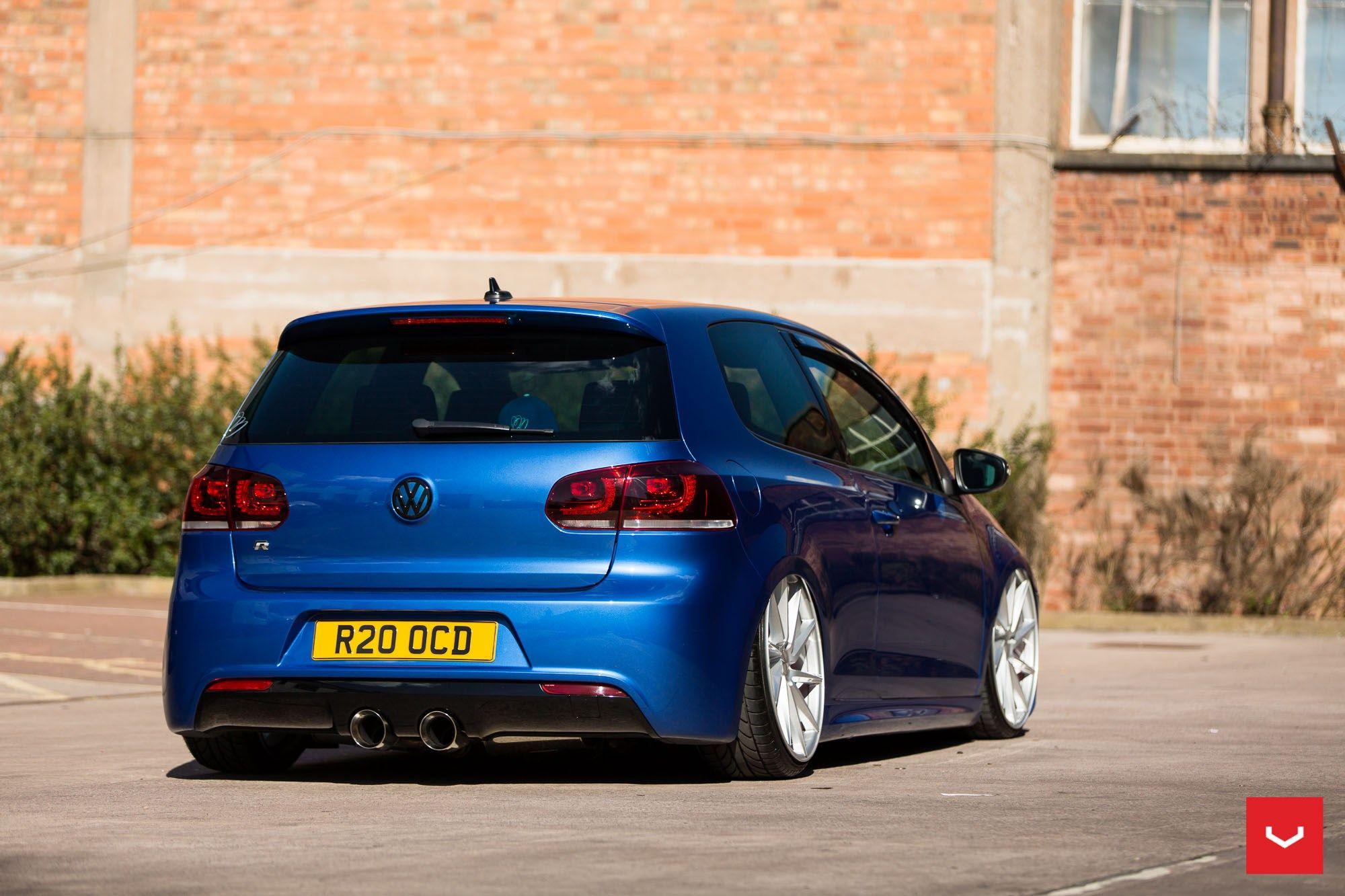 Vw golf r mk6 cars one love - Vossen Wheels Vw Golf R Vossen Cvt