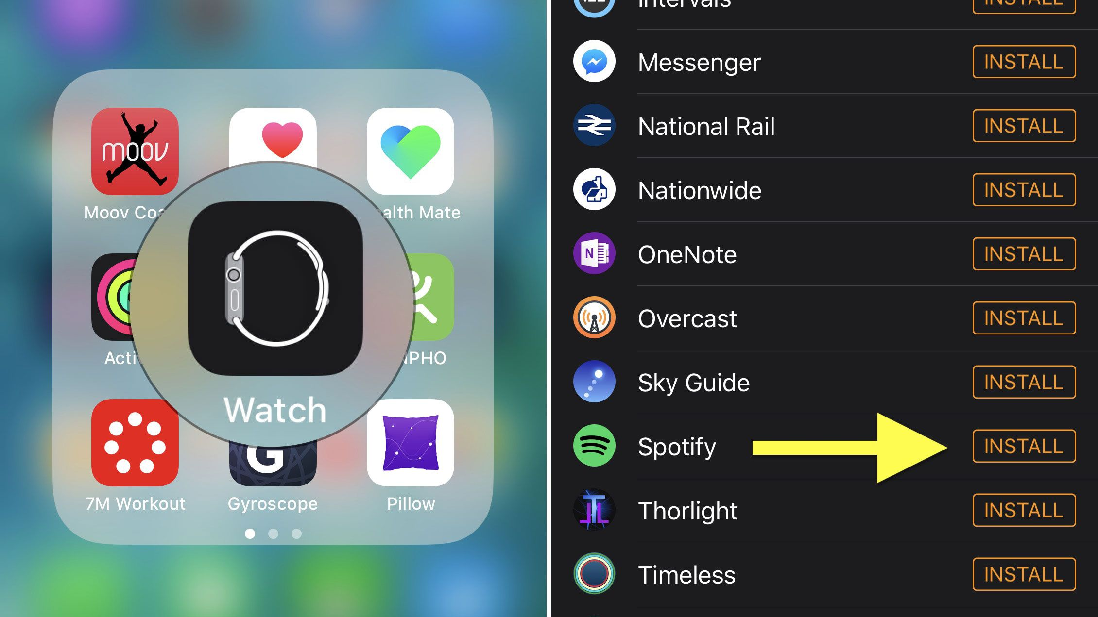 Spotify on Apple Watch how to set it up and listen to