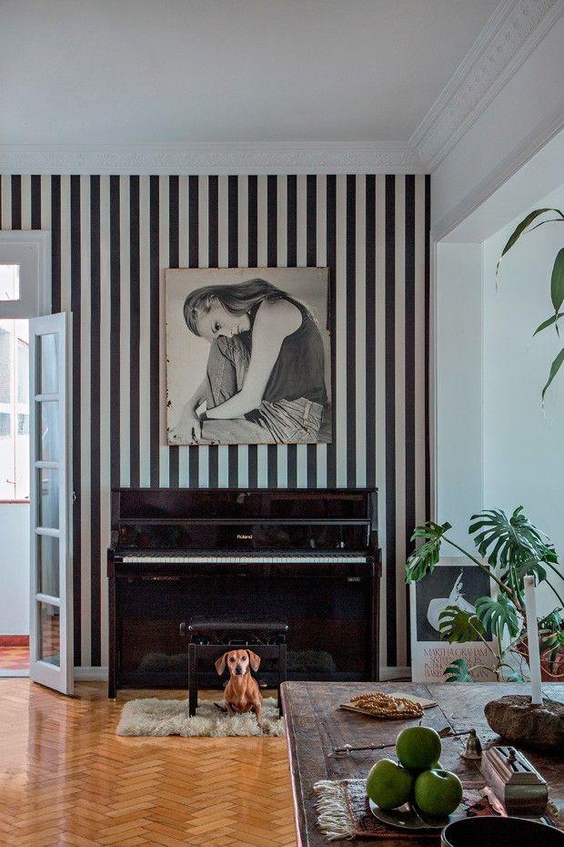 O lar de Fred Gelli autor do