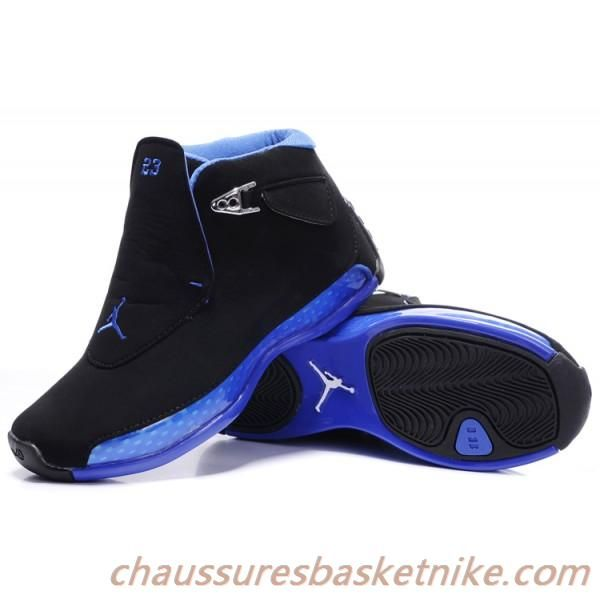 Black · Nike Air Jordan 18 Sneakers XVIII ...
