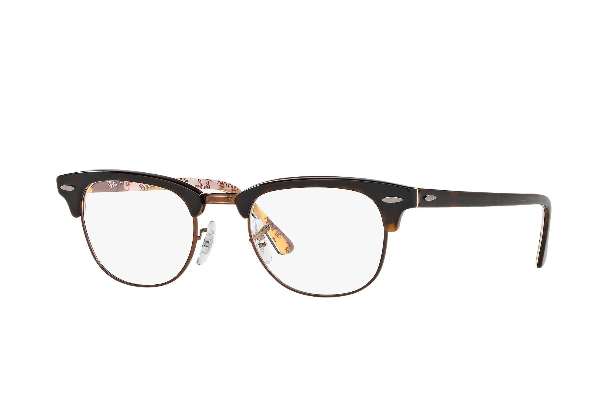 8989730c60 Ray-Ban 0RX5154-Clubmaster Optics Tortoise