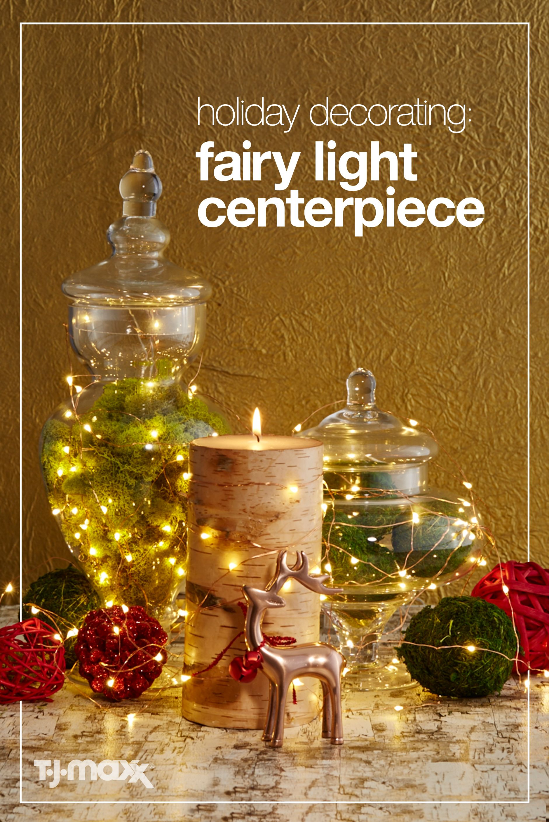 This Holiday Season, Create A Christmas Centerpiece That Makes A