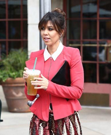 kourtney kardashian style | Kourtney Kardashian - Errands with Scott and Khloe