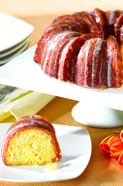 Pineapple Poke Bundt Cake....very yummy!  Easy and delish!  Would be good served warm too!