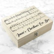 Gift for Couples Xmas Box Personalised Gift from Santa Personalised Have Yourself a Very Merry Christmas Eve Box Christmas Gift