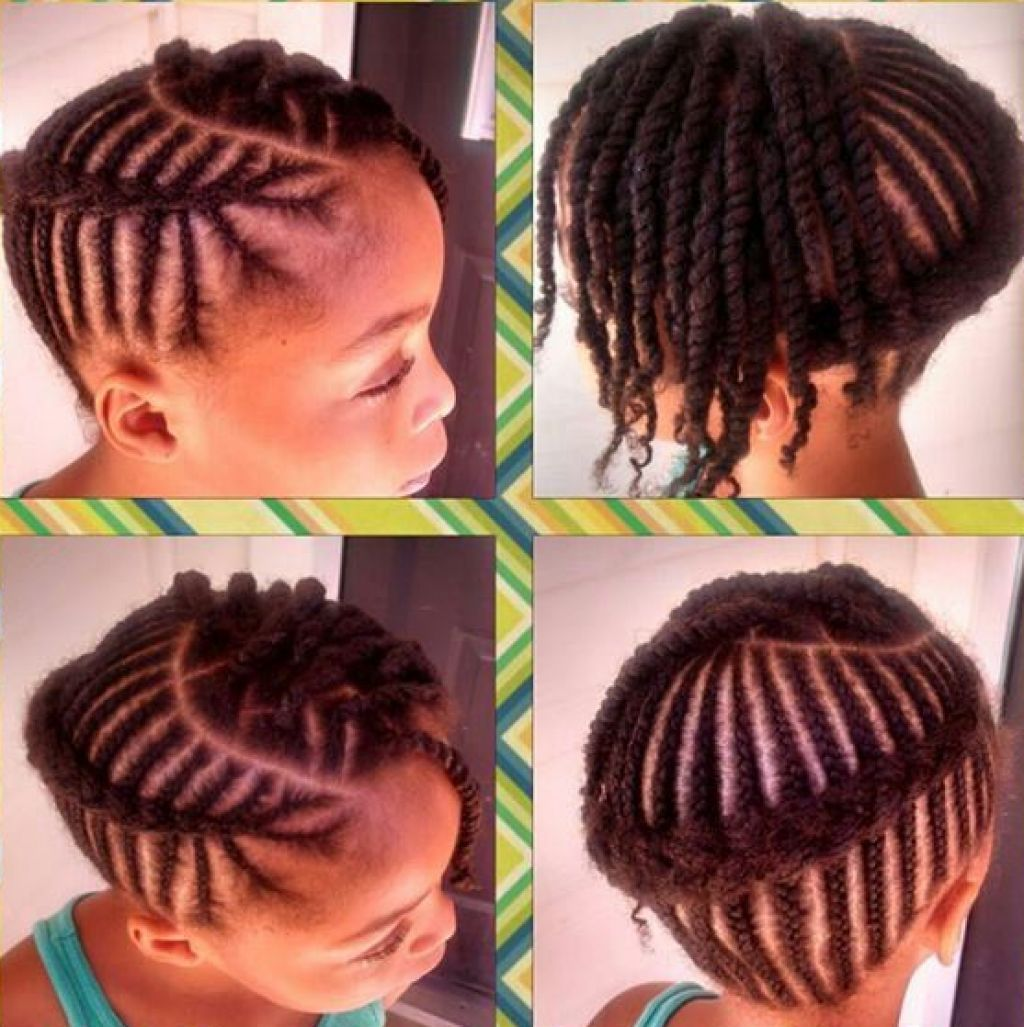african braided cornrow hairstyles for little girl