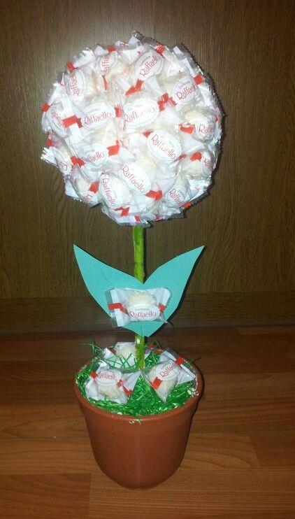 Raffaello Baum Geschenke Basteln Kleine Geschenke