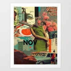 Art Print featuring NOVember by Frank Moth