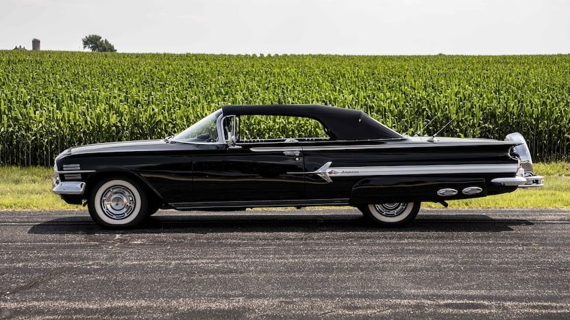 1960 Chevrolet Impala Convertible 8 (With images