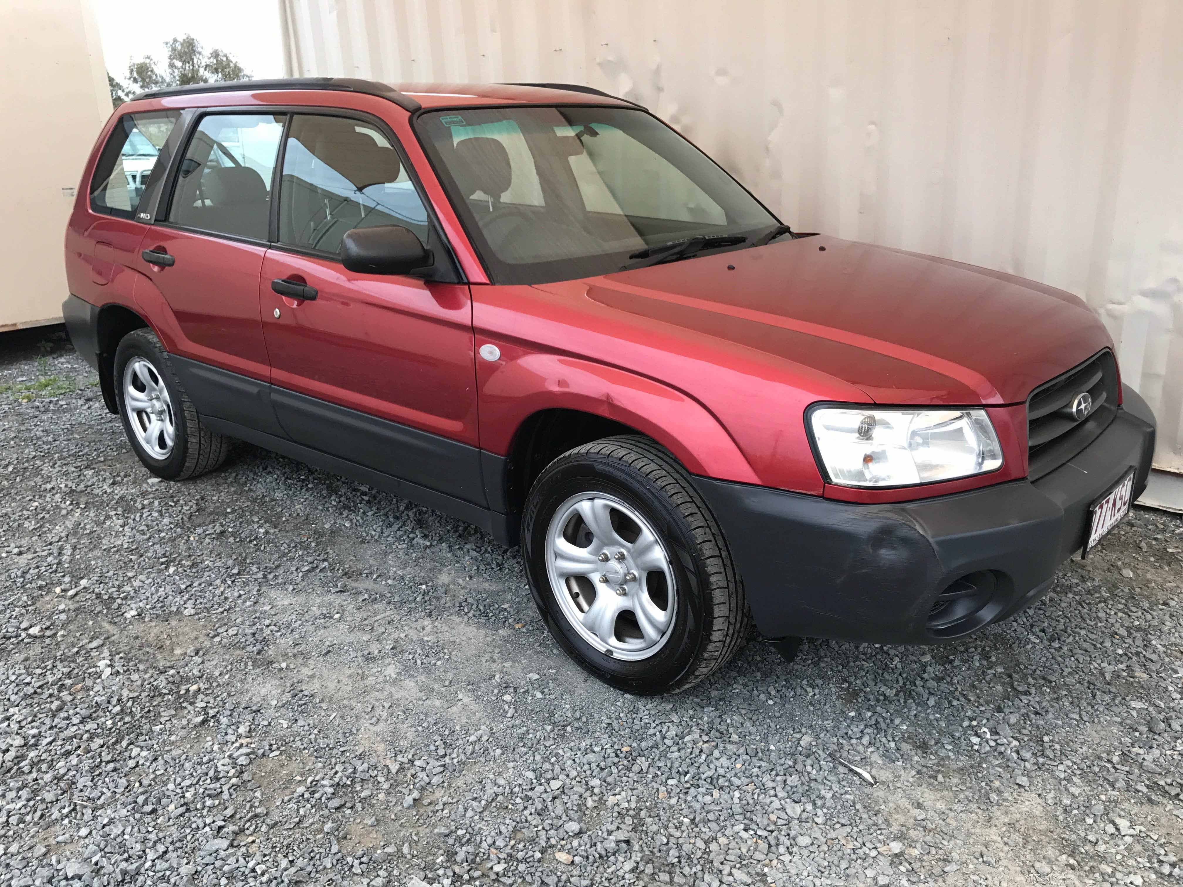 4cyl Awd Wagon Subaru Forester 2 5 X 2003 Red Used Vehicle Sales Subaru Subaru Forester Cars For Sale