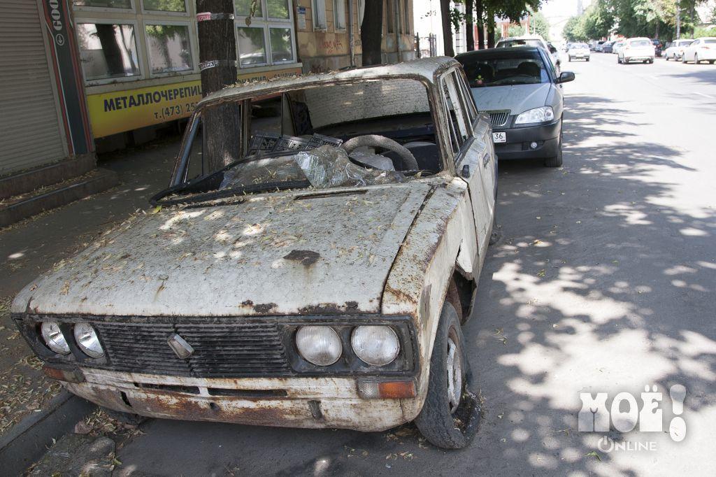 Брошенные автомобили в Воронеже / Abandoned Cars in Voronezh