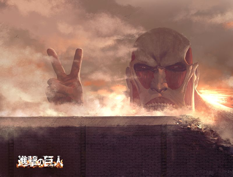 Colossal Titan - Zerochan | Attack on Titan (Shingeki no ...