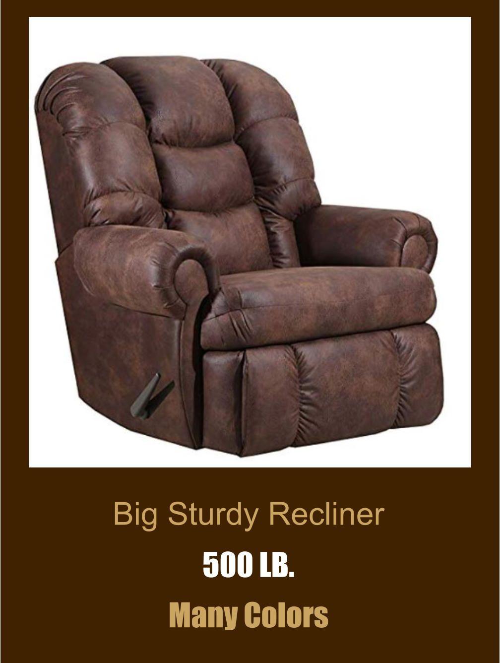 Big Sturdy Recliner Recliner Chair Chair Recliner