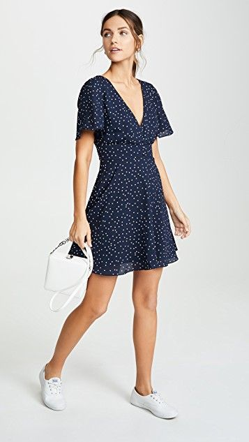 La La Land Dress #dresseswithsneakers BB Dakota La La Land Dress 1