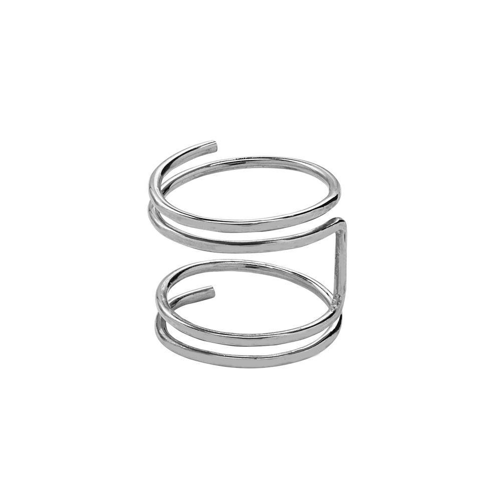 Double Open Twirl Ring