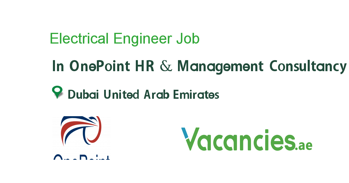 Electrical Engineer Hr Management Operations Management Executive Jobs