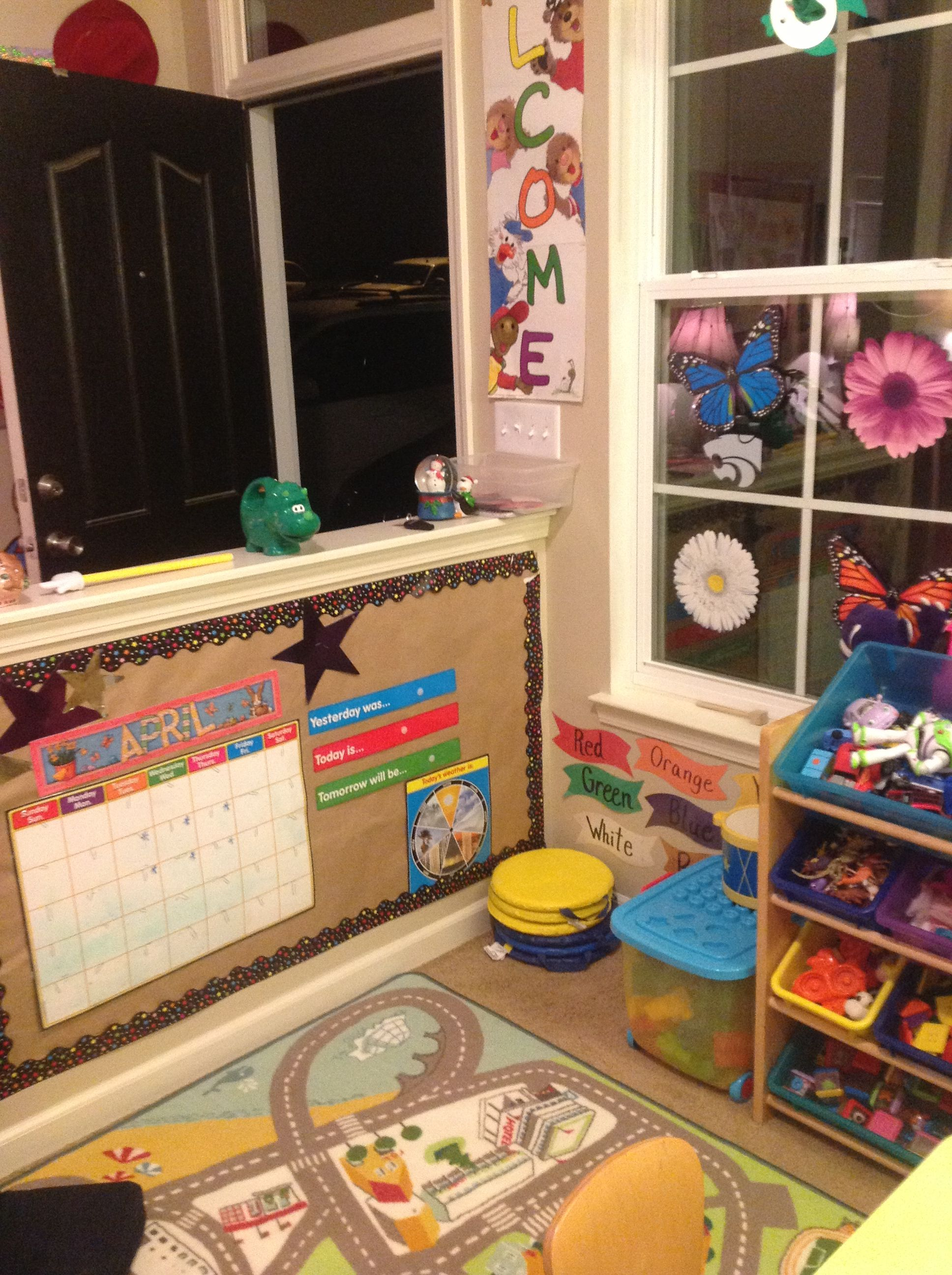 Small Room Home Daycare Layout Daycare Decor Daycare Setup