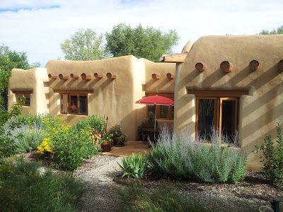 Taos Garden Home Tour 2013 Casas De Adobe Casas De Cuento Planos De Casas