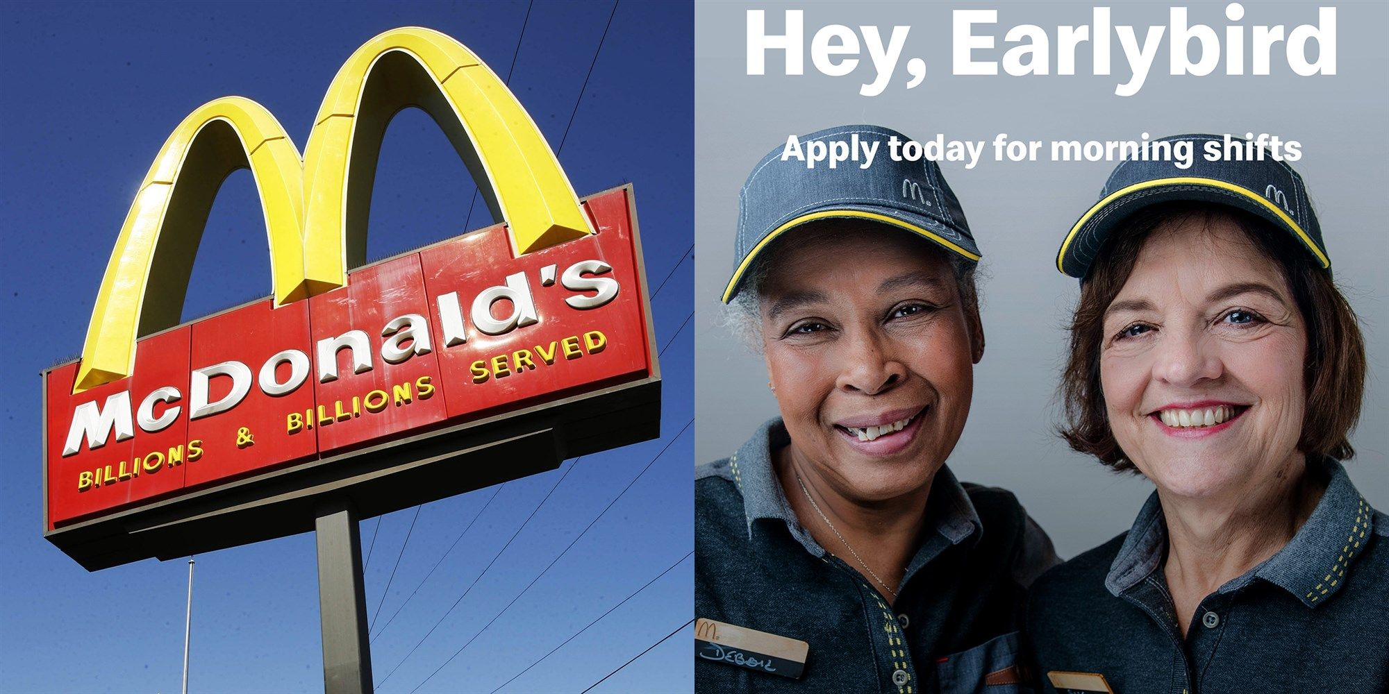 Are You Almost A Senior Citizen Mcdonald S Wants To Give You A Job Senior Citizen Tuition Assistance Job
