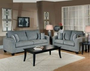 Modern Grey Fabric Living Room Sofa Loveseat Set Sofas Nyc Modern Sofa Living Room Modern Couches Living Room Stylish Living Room