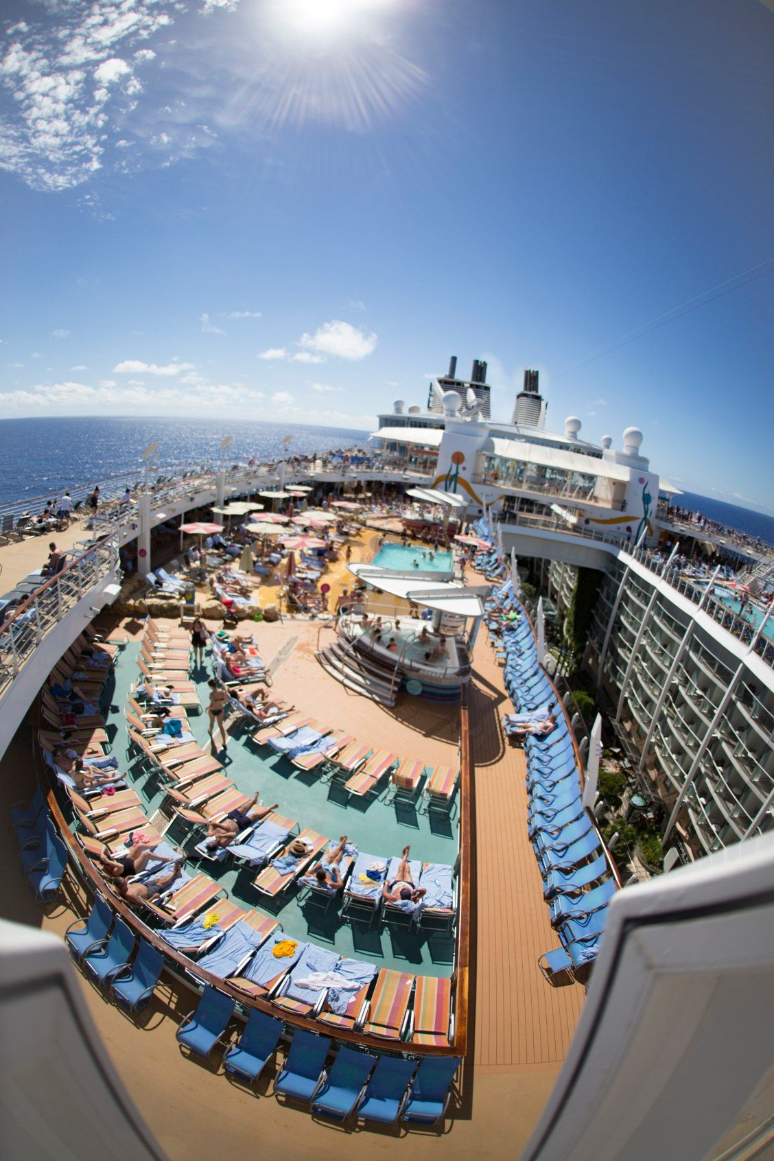 Allure Of The Seas Ignore The Text Enjoy The Sun
