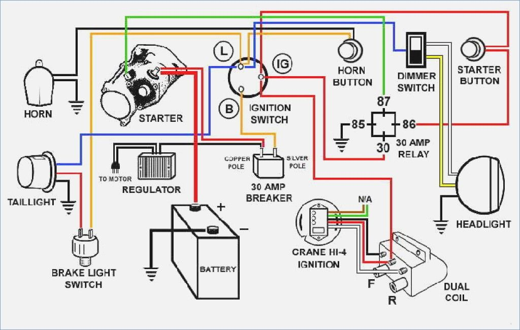 Auto Wiring Diagrams Pics Wiring Diagrams For Classic Car Motorcycle Wiring Electrical Wiring Diagram Electrical Diagram