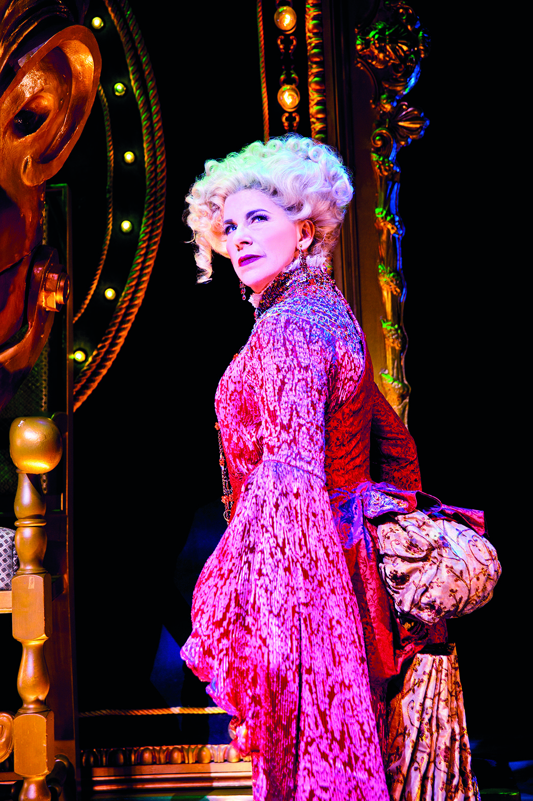 Louise Plowright as Madame Morrible - Wicked | Musical Theatre ...
