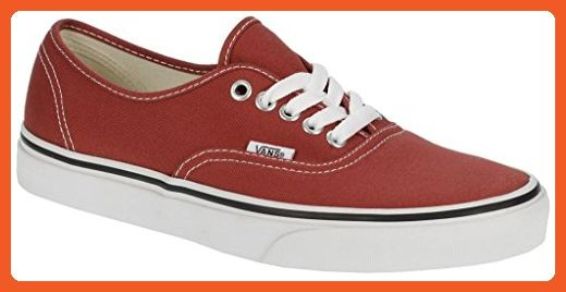 fab8e3bde7 VANS Unisex Authentic Red Canvas VN000EE3RED Mens 11