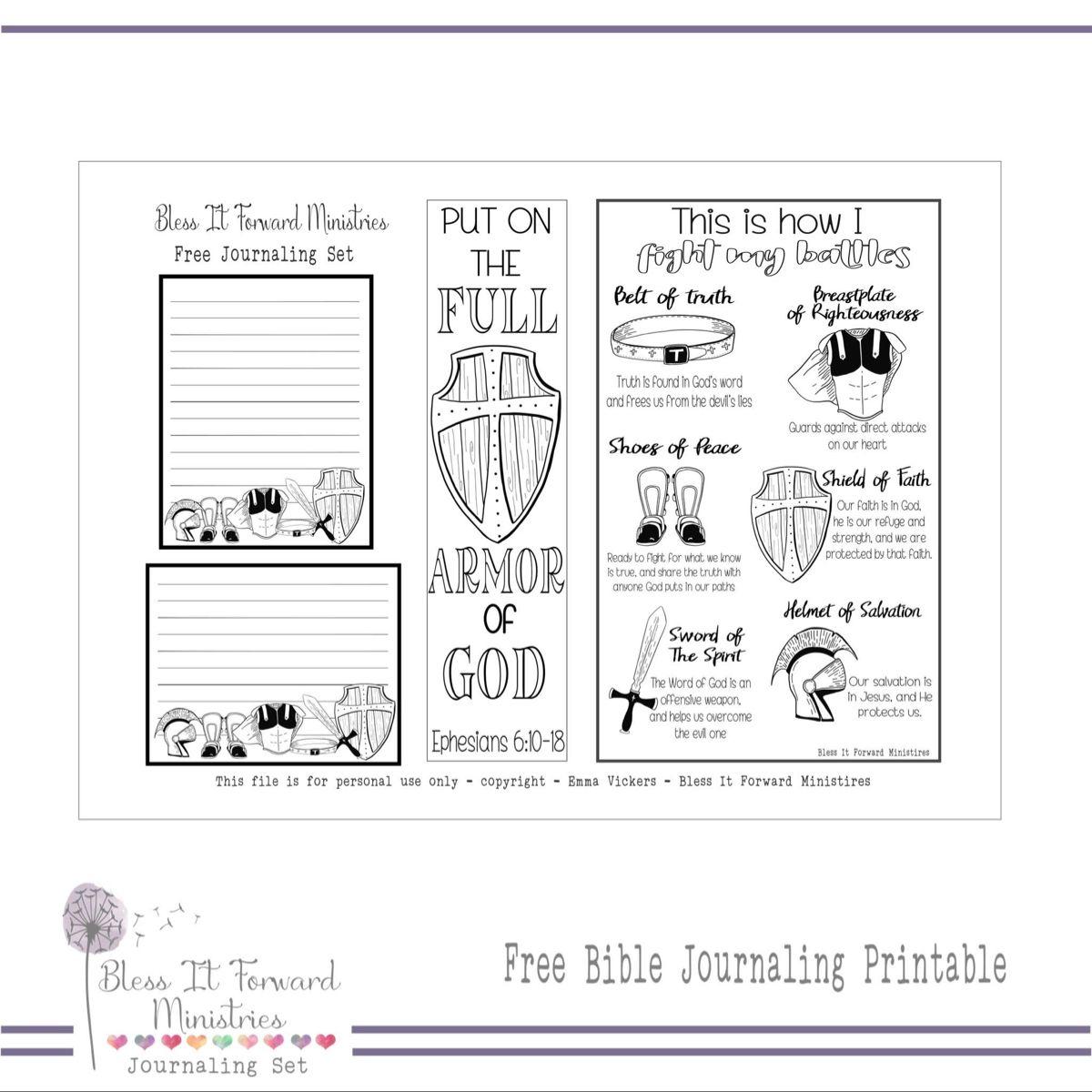 Pin on BIFministries Free Bible Journaling Printables